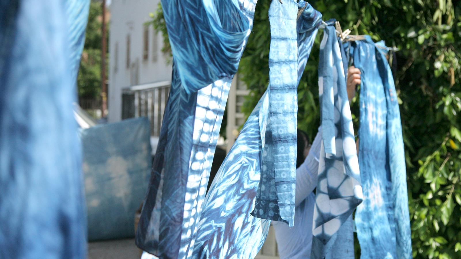 Intermediate Shibori Indigo Dyeing