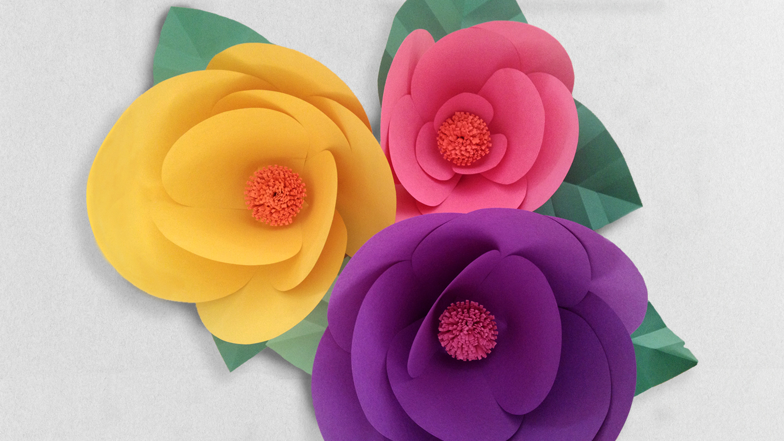 How To Make Paper Flowers Step By Step With Robert Mahar
