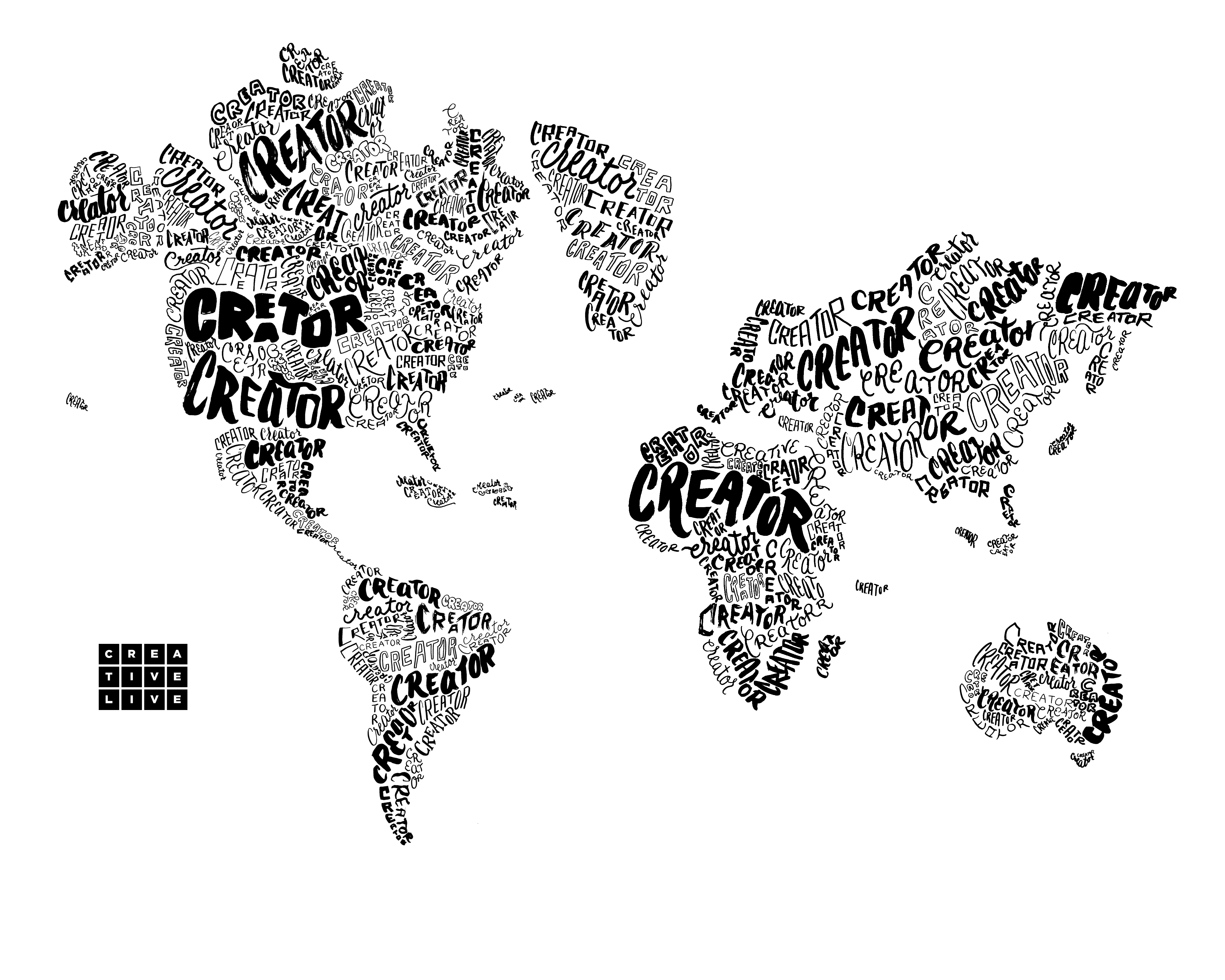 About Us - Map of us time zones black and white